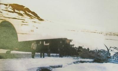 Flyvraket på Fjordbotneidet