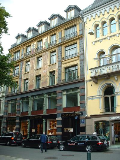 Akersgata 20s stil og arkitektur