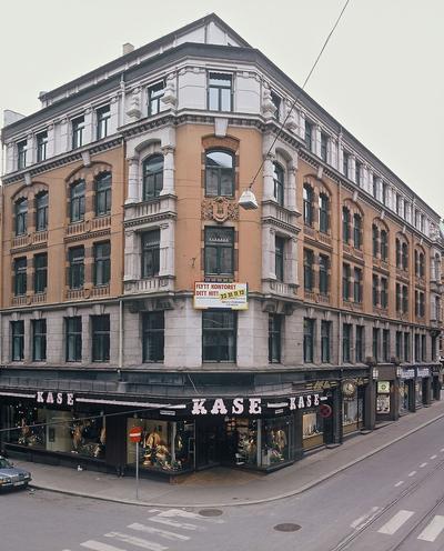 Krysset Prinsensgate - Øvre Slottsgate