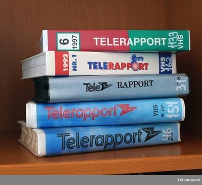 Telerapport 1990 03