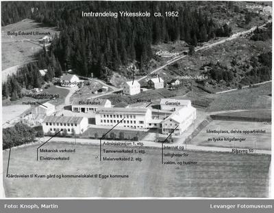 Flyfoto av Inntrøndelag Yrkesskole II