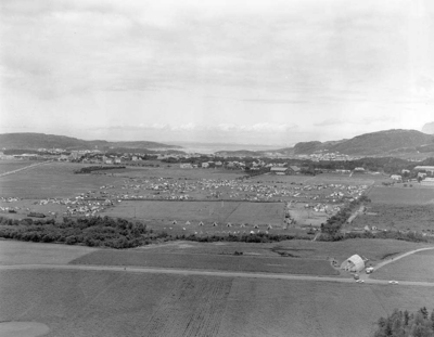 Landsspeiderleiren samlet i Bodø på Rønvik-jordene