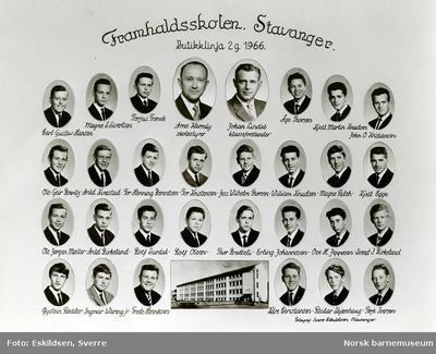 Framhaldsskolen, Stavanger, Butikklinja 2g