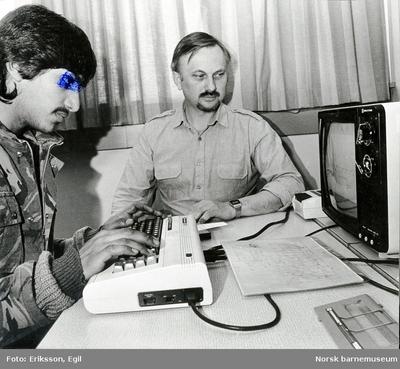 Programmering på datamaskin - opplæring av pakistanere