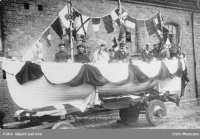 Barnehjælpsdagen. 1908.