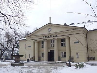 Oslo Børs, vår første