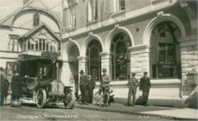 Norges første postrute med bil