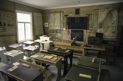 Lindås skulemuseum på Vassel