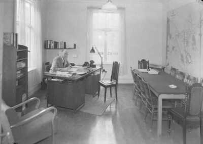 Høires kontor Intriør