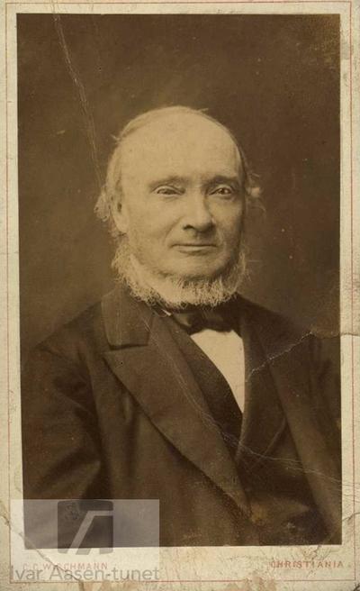 Ivar Aasen, 1881