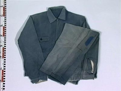 Arbeidsdress, jakke og bukse