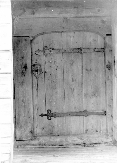 Inngangsdør - Reppen i Nesheim