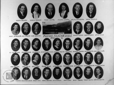 Marnar Folkehøgskole 1940-1941