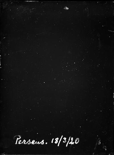 Perseus 18/3/20