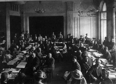 Forsamling. Forsamling. Folkeforbundets Komité for Intellektuelt Samarbeide. 5th Assemble, Geneve, September 1924