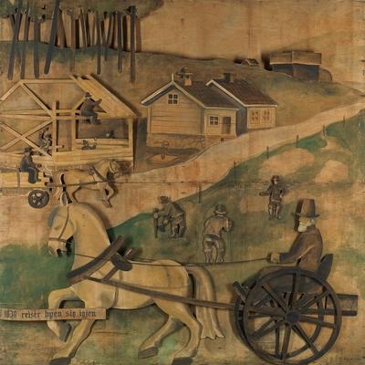 I 1839 reiser byen sig igjen