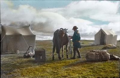 Fra foredragsrekken Landmålerlivet i Finnmark v/Axel Printz : Siste kløv til ny leir