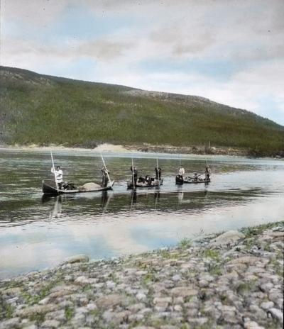 Fra foredragsrekken Landmålerlivet i Finnmark v/Axel Printz : På Tana