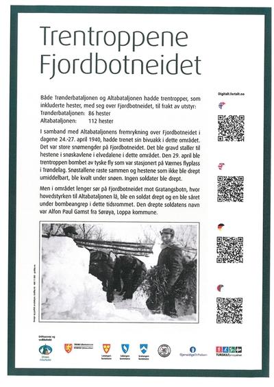 Trentroppen - Fjordbotneidet - TRENATROHPAT - JALGESÁIDI