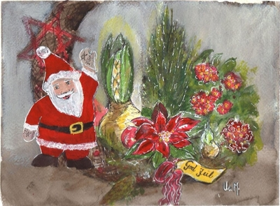 11) Juledekorasjon - Sparkeføre