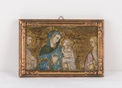 Maria med Jesusbarnet, St.Francis og Johannes Døperen