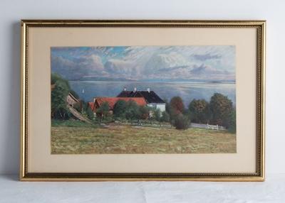 Ukjent tittel (repro av maleri av Karl Edvard Diriks)
