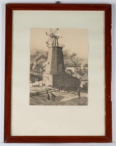 Møllen på Møllehaugen, 1900