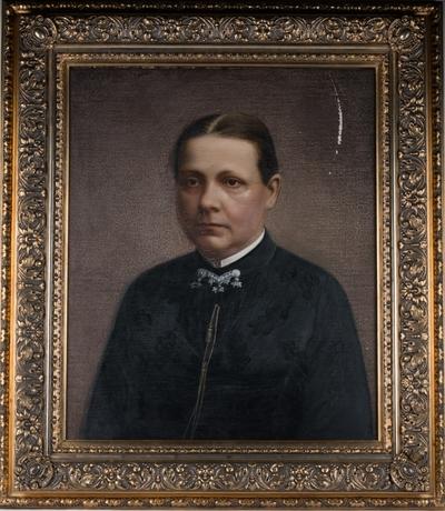 Portrett av Hendrikke Marie Berentsen (f.Housken) (1840-1890)