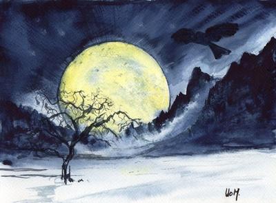 19) Stille natt - Sparkeføre