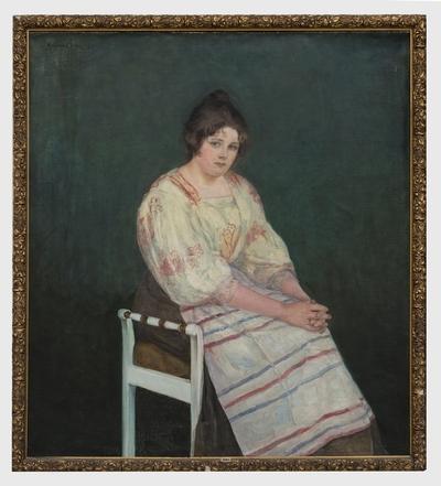 Portrett av min hustru