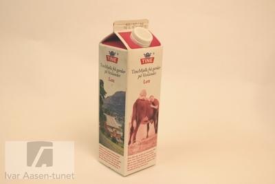 TineMjølk frå gardar på Vestlandet