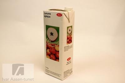 Drikkekartong for eplejus