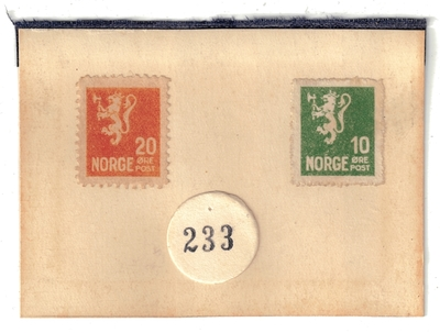 Falske frimerker