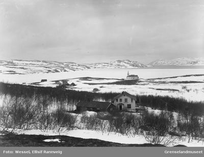 Utsikt over Kirkenes og Bøkfjorden