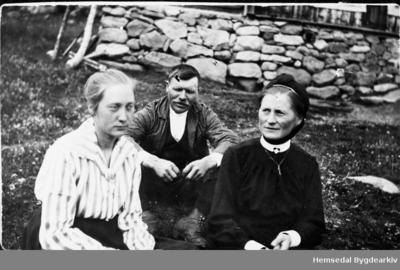 Frå venstre: Anne Huso