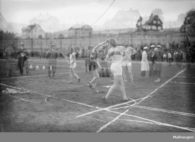 Åpning av Gjøvik Stadion 1928