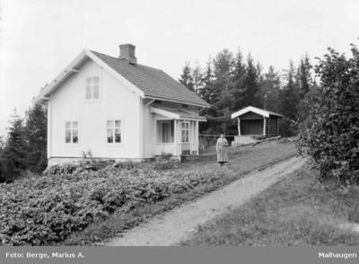 Nabo til Grimsrud gård ved Ransfjorden