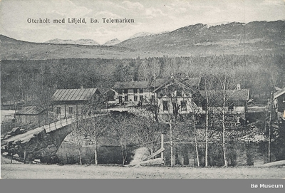 Oterholt med Lifjeld, Bø. Telemarken