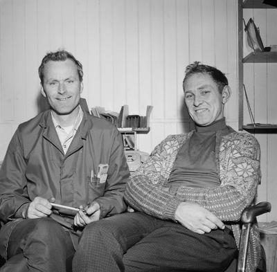 Leif Helgeland og Garmann Solheim