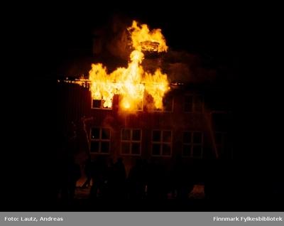 Karasjok i 1972- DSF-brannen