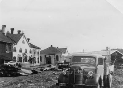 Opprydding i Fagerlia etter krigen