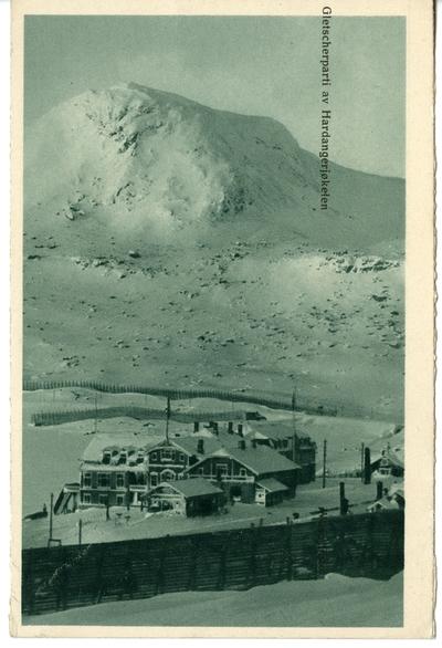 Gletscherparti av HardangerjøkelenBergensbanen