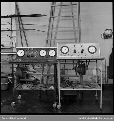 Justerbord for ventiler
