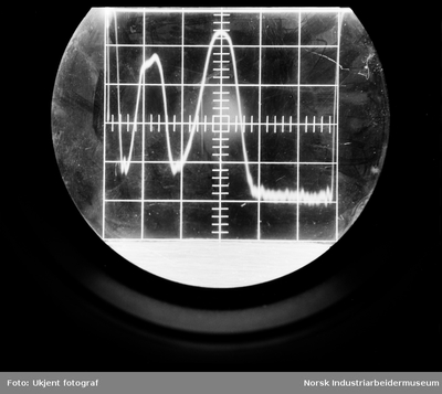 Oscilloskop-diagram fra Alm-sentrifuge