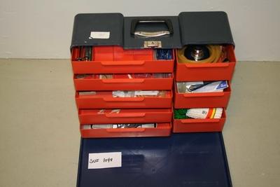 Kuffert for utstyr.