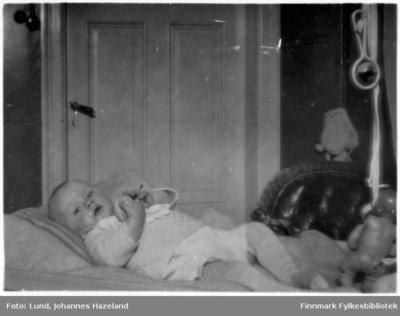 Frithjof Lund som baby