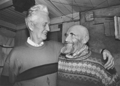 Torfinn Bjørnaas og Johan Elvbakken