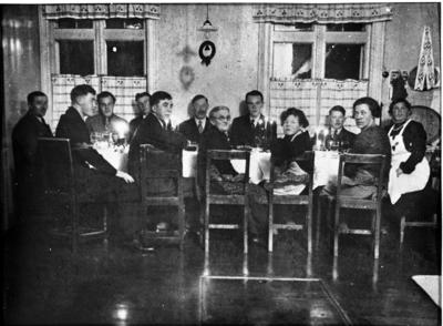 Julaften på Sukkestad Midtre 1936