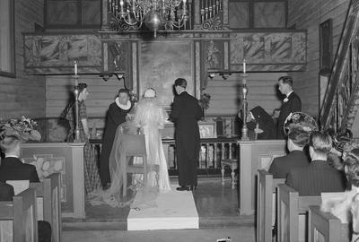 Per Johansen fot. i Bakke kirke