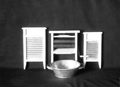 Hjelpemidler for klesvask: Balje